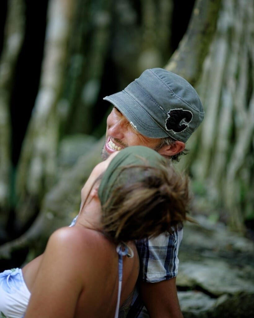 Cenote Lifestyle Photography - Nancy and Jaime