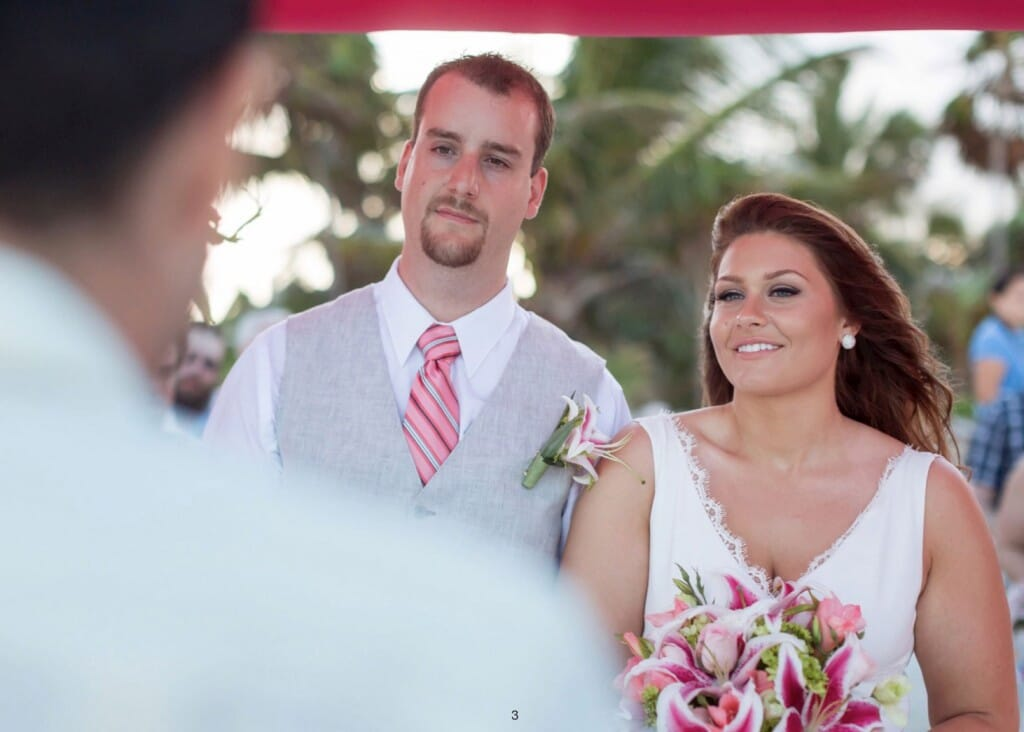 Grand Sirenis Destination Wedding - Stephanie and Bill