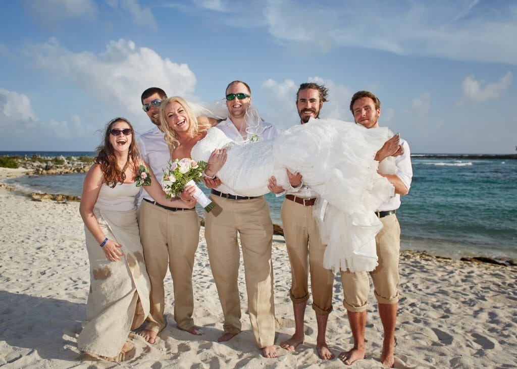 Grand Sirenis Resort Beach Wedding - Rachel and Ronald