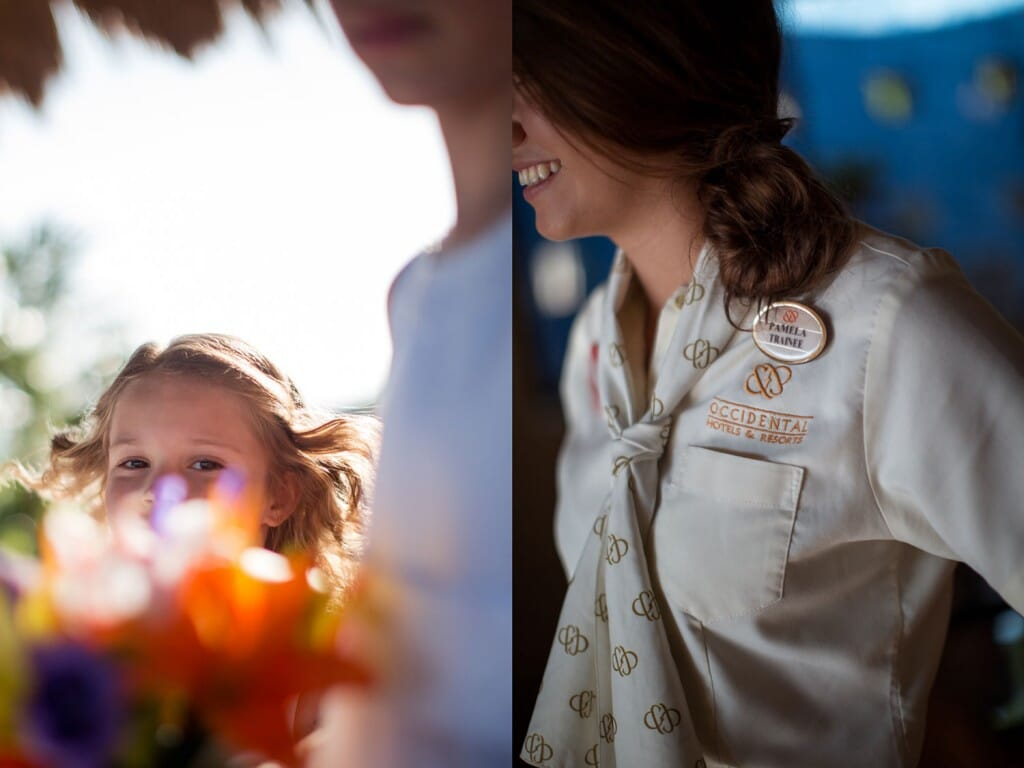 Occidental Grand Xcaret Wedding - Clare and Carlton