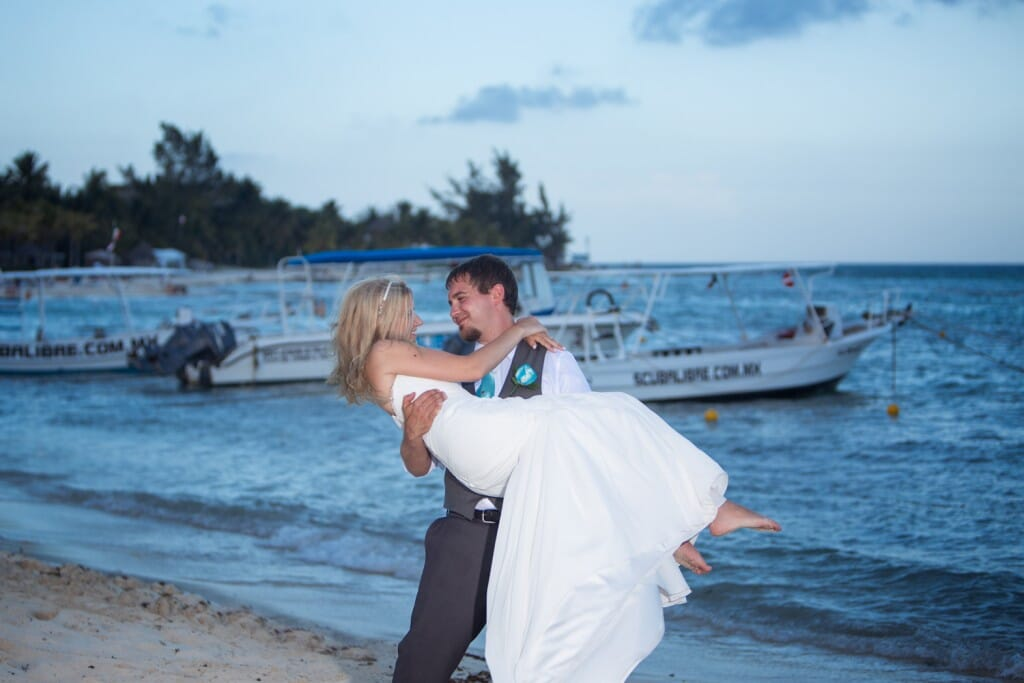 Sandos Caracol Resort Wedding - Chantelle and Kevin