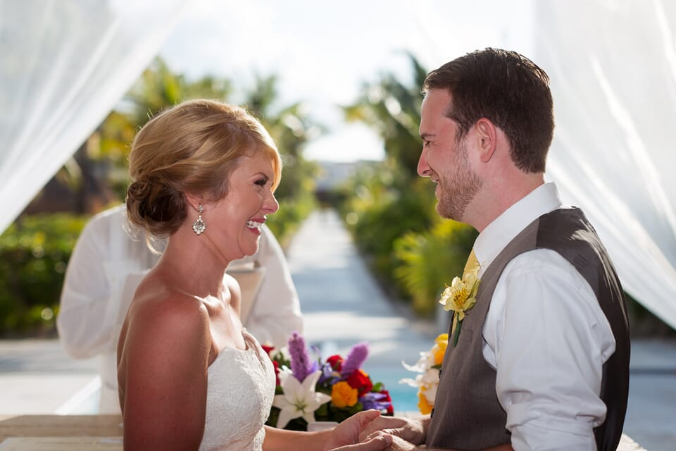 Excellence Playa Mujeres Wedding - Courtney and Clint