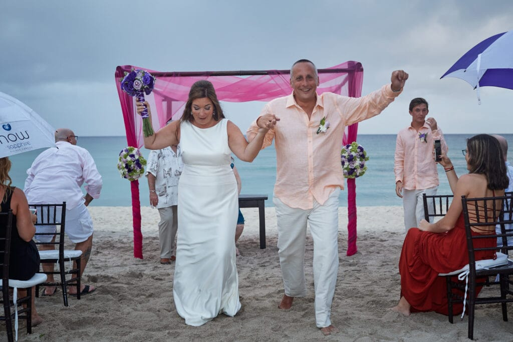 Blue Venado Beach Club Wedding - Lisa and Harry